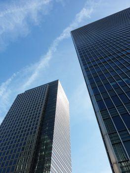 Docklands Buildings Perspective