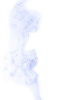 art smoke on white