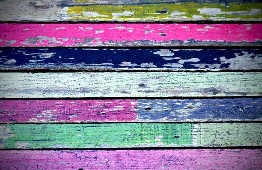texture of colored grunge wood for Background