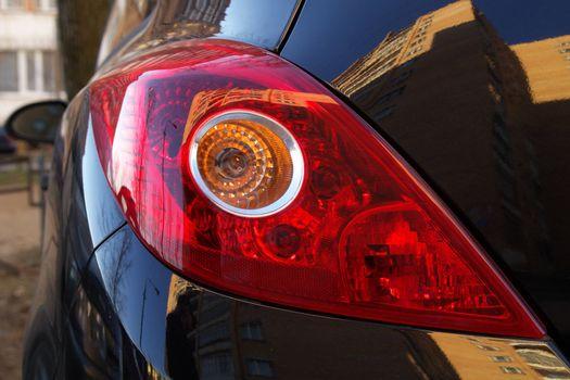 Car's backlight