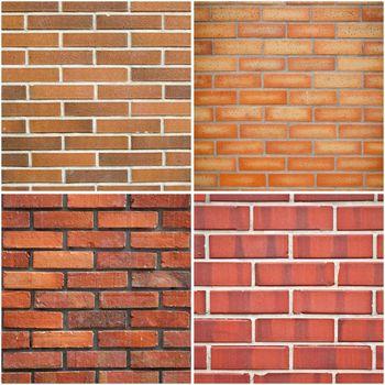 Red brick textures