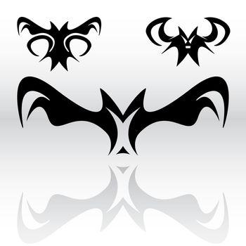 Vampire Bats Clipart