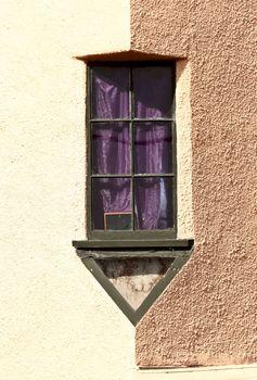 Unique window in Dunedin New Zealand