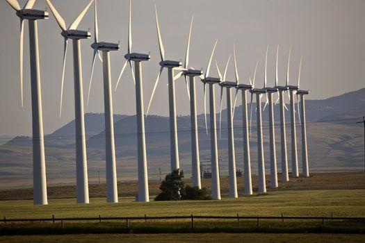 Windfarm near Pincher Creek Alberta