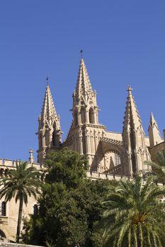 cathedral in La Palma, Mallorca