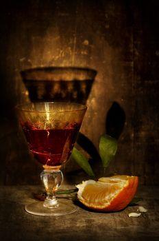 mandarin and liquor