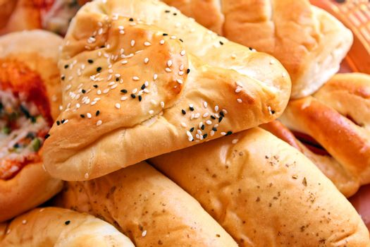 Arabic pastry Buns with cheese filling