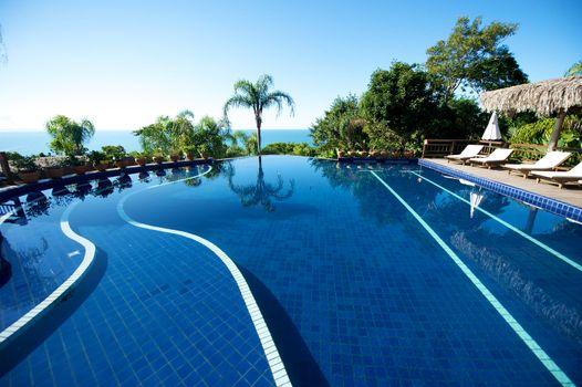 Paradise resort in Porto Belo in Santa Catarina state, Brazil.
