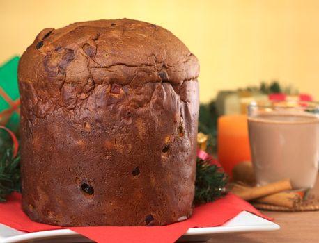 Panettone, a Traditional Christmas Cake