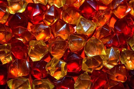 texture of the precious stones