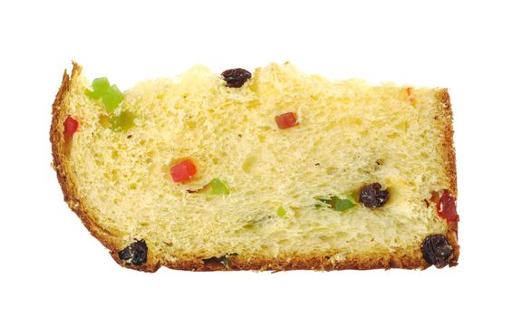 A Slice of Panettone, the Italian Christmas Cake