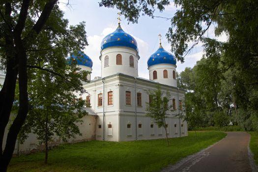 Russian Orthodox church of Juriev monastery
