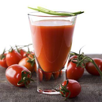 Fresh Tomato juice or Bloody Mary