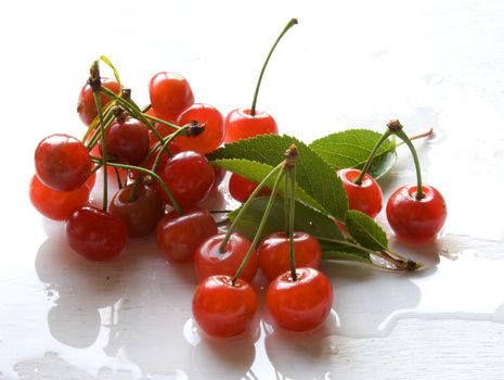 wet cherry