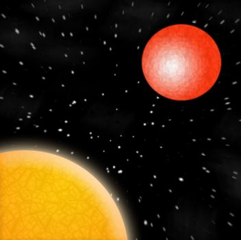 A space illustration.