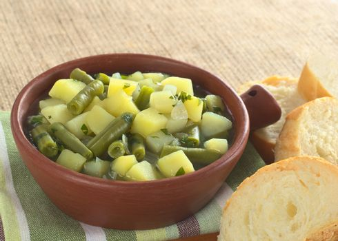 Potato-Green-Bean Hotpot