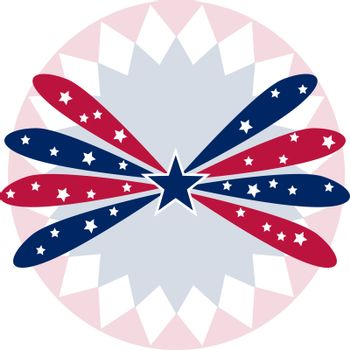 An image of a patriotic star banner background
