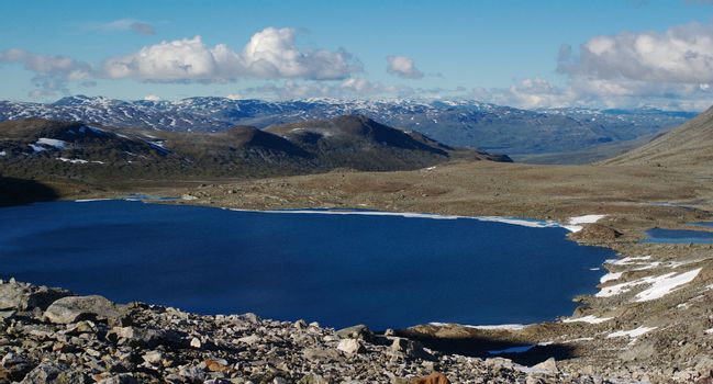 Lake in Northern Scandinavia