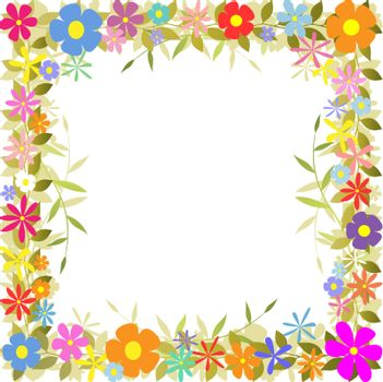 Floral Border