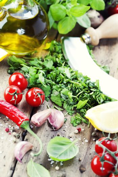 fresh italian ingredients