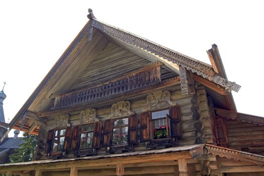 Old Russian cottage