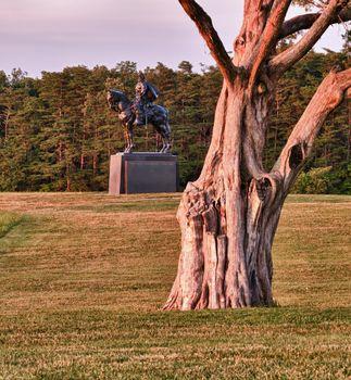 Stonewall Jackson at Manassas Battlefield