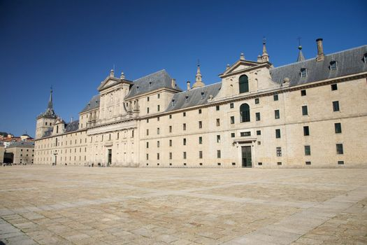 Escorial monastery facade