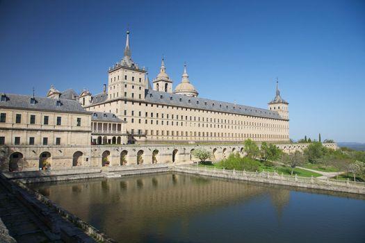 Escorial monastery in Madrid