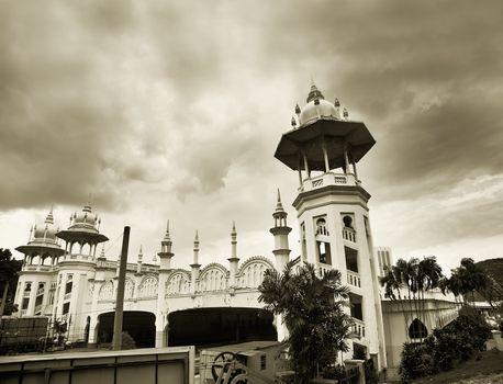Islam style train station