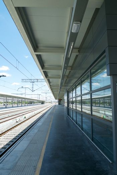 platform of railway station