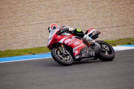 Xavier Del Amor pilot of Stock Extreme in the CEV