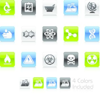 +++ The .eps file includes 4 color versions for each icon in different layers +++