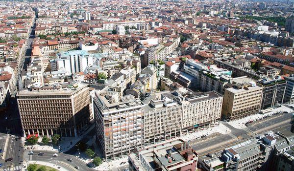 Milan landscape