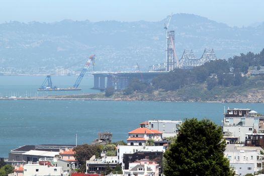 Bay Bridge Construction San Francisco