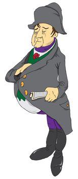 Emperor cartoon