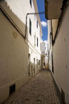 narrow Ciutadella street