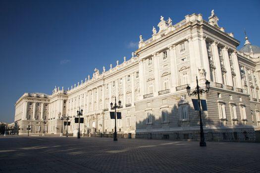 palace at Madrid