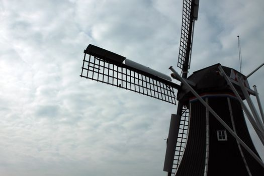 fragment of windmill