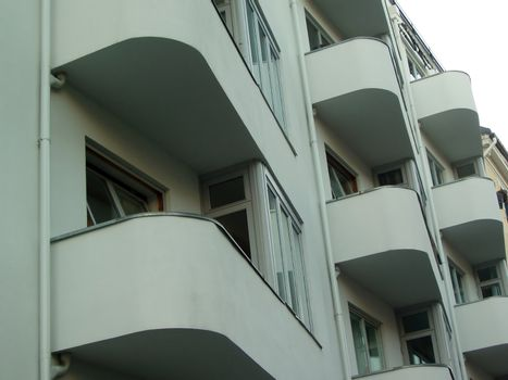 Isolated balconys