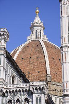 Basilica di Santa Maria del Fiore in Florence, Italy