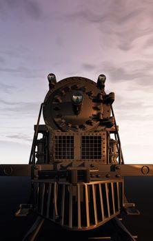 Rendering of train.