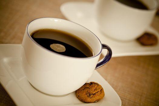 Warm Coffee and Cookies