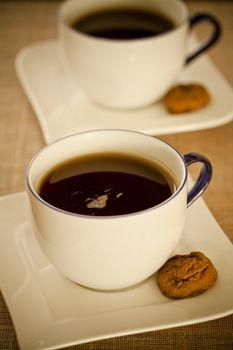 Warm Coffee and Sweets