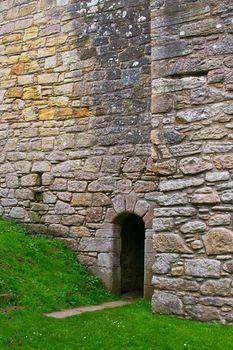detail passage way castle