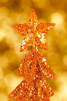 Sequin christmas tree