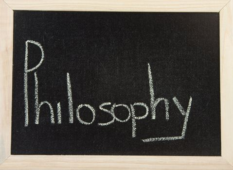 Board with PHILOSOPHY