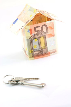 money house and keys