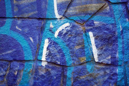 grafitti on stonewall