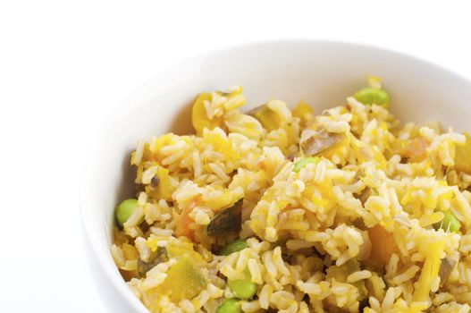 Pumpkin fried rice