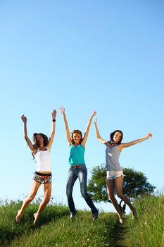 girlfriends jump